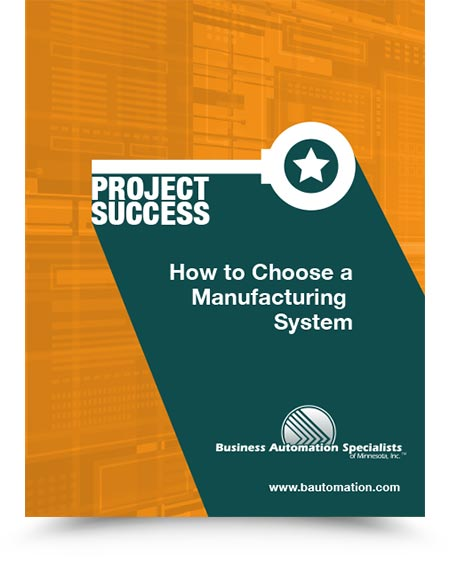 WhitePaper - How to Choose a Manufacturing System