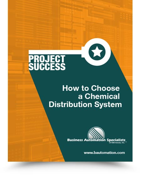 How to Choose a Chemical Distribution System