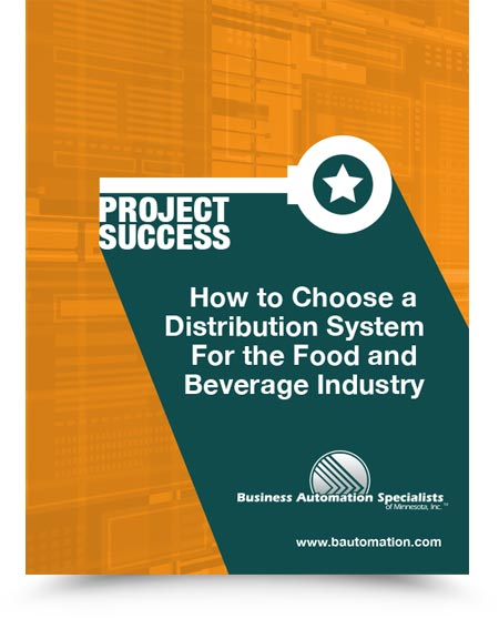 Whitepaper - How to Choose a Distribution System for the Food & Beverage Industry
