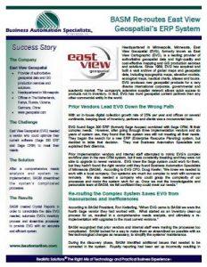East View Geospatial Testimonial