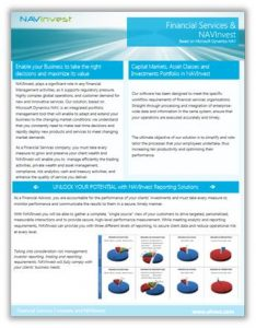 Financial Services for Microsoft Dynamics NAV