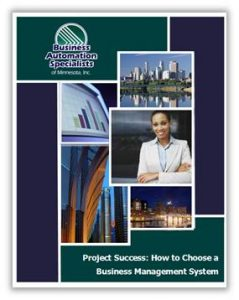 Business Management System Project Success