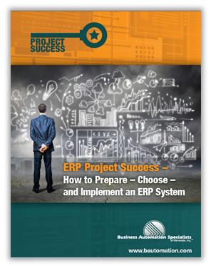 Project Success - ERP System